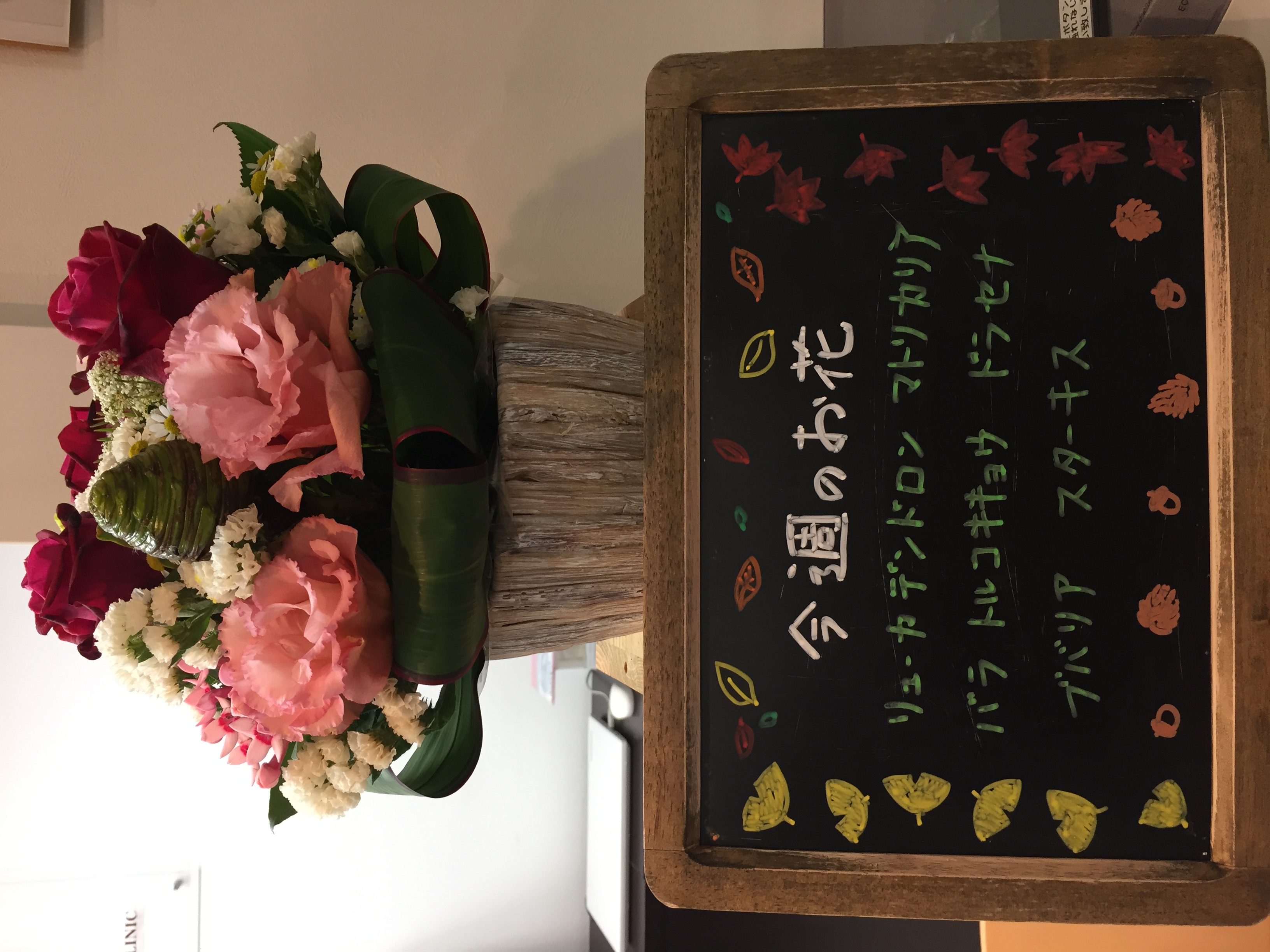 今週(11月11日〜)のお花