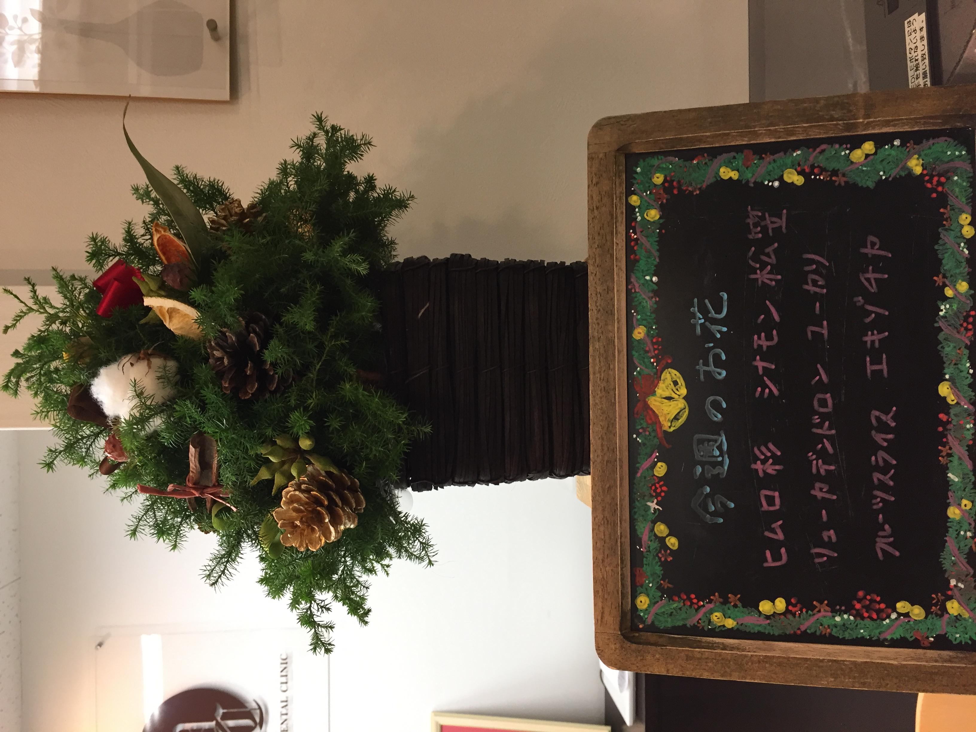 今週(11月25日〜)のお花