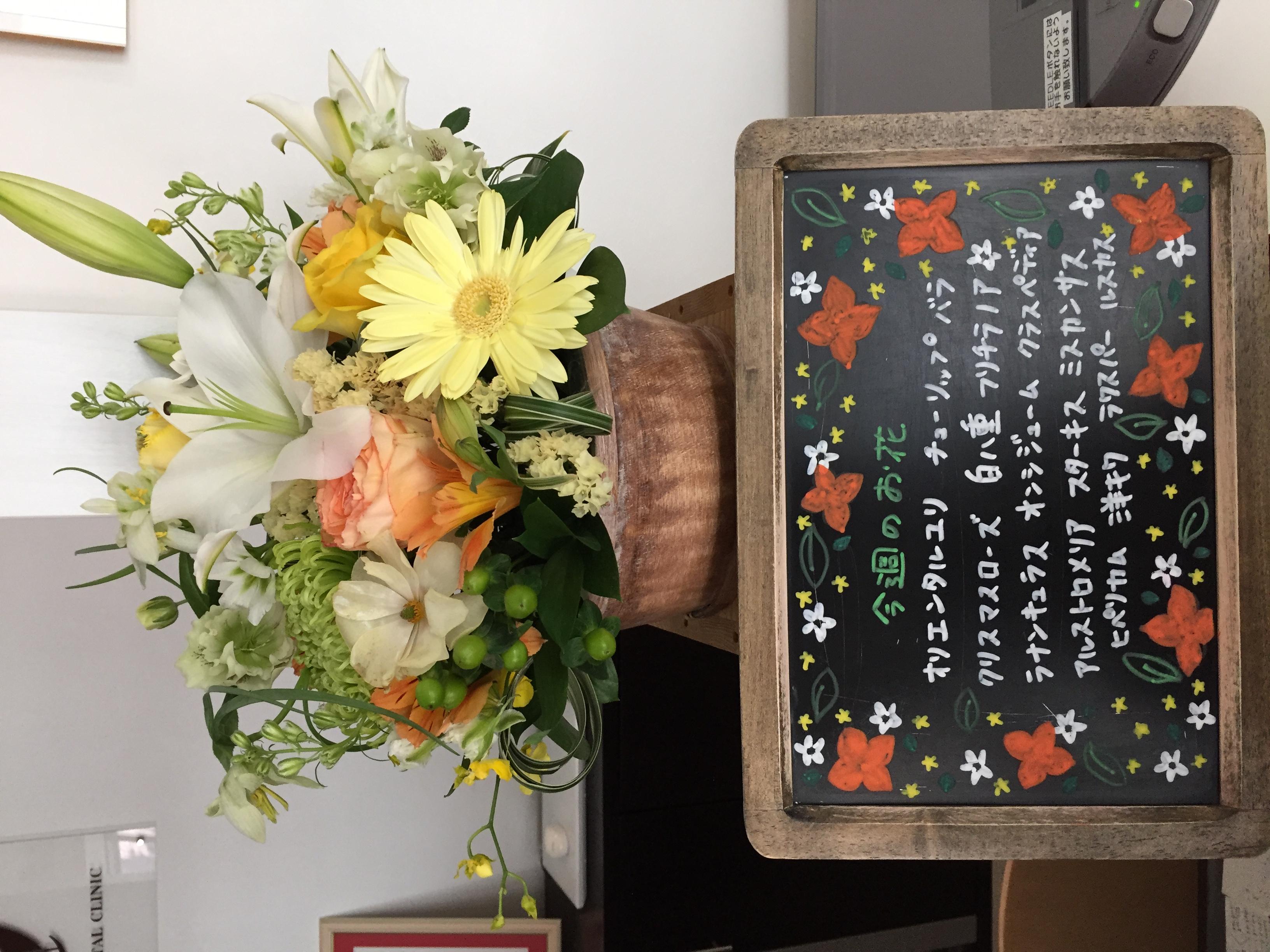 今週(3月16日〜)のお花