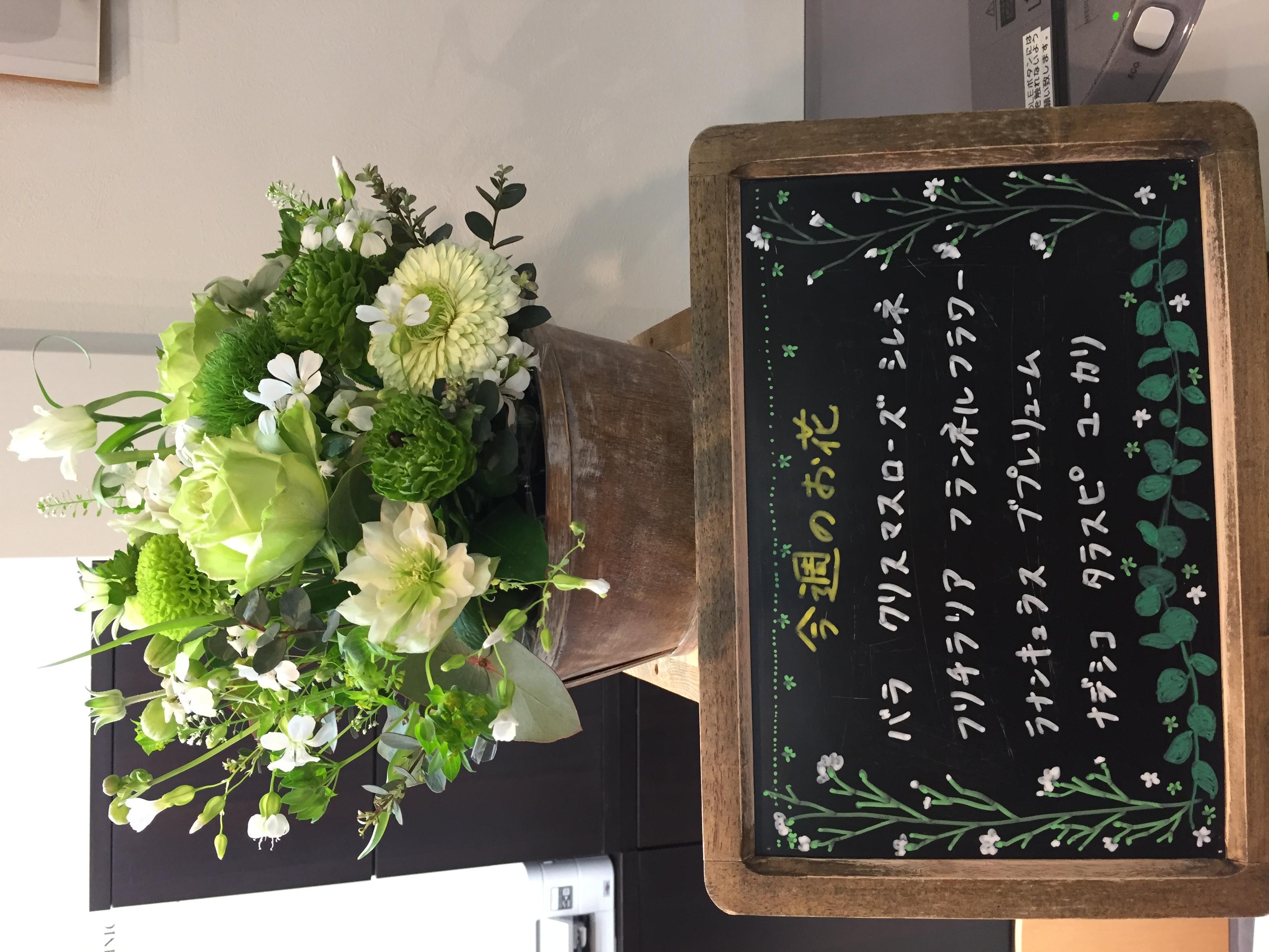 今週(3月31日〜)のお花