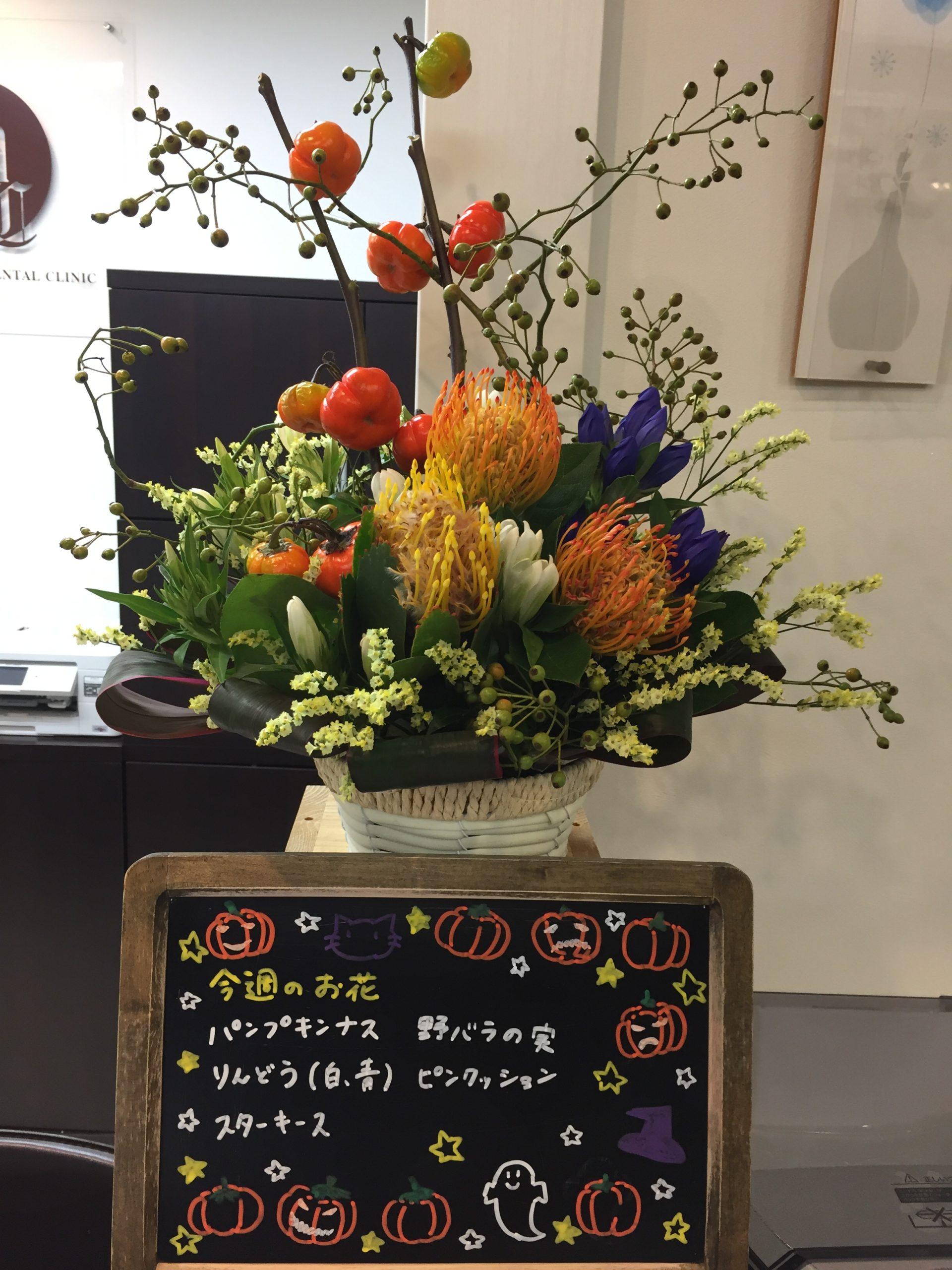 今週(9月7日〜)のお花