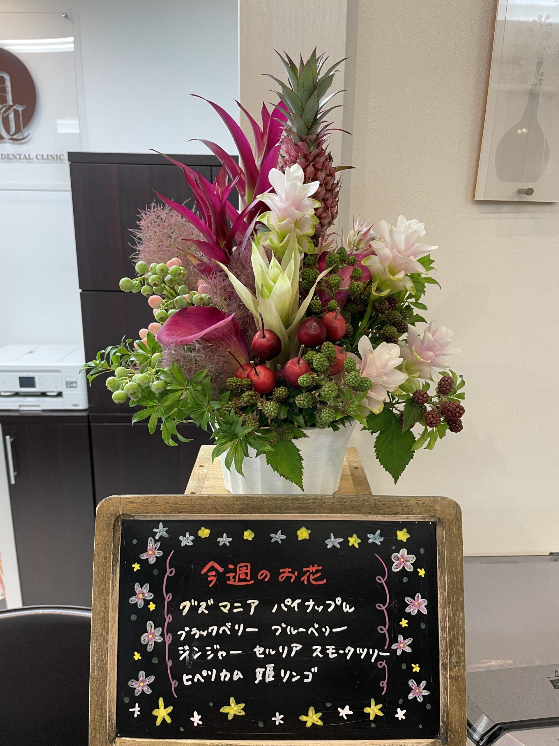 今週(6月14日〜)のお花