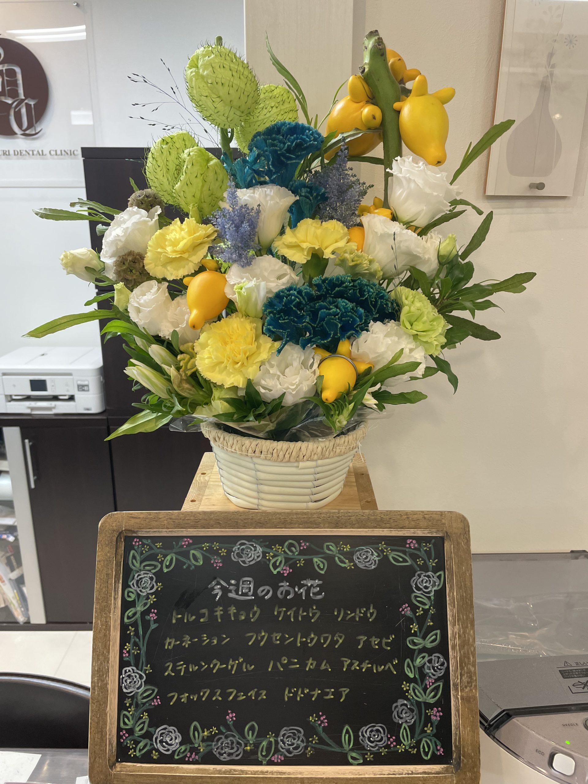 今週(9月27日〜)のお花